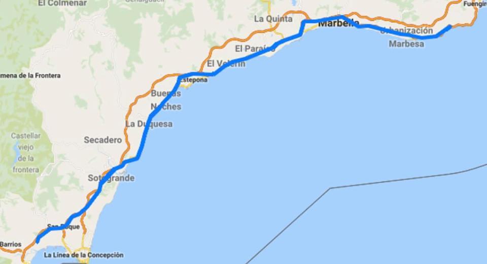 Jour 06 Espagne : De Casa à la Mecque à vélo Karim MOSTA