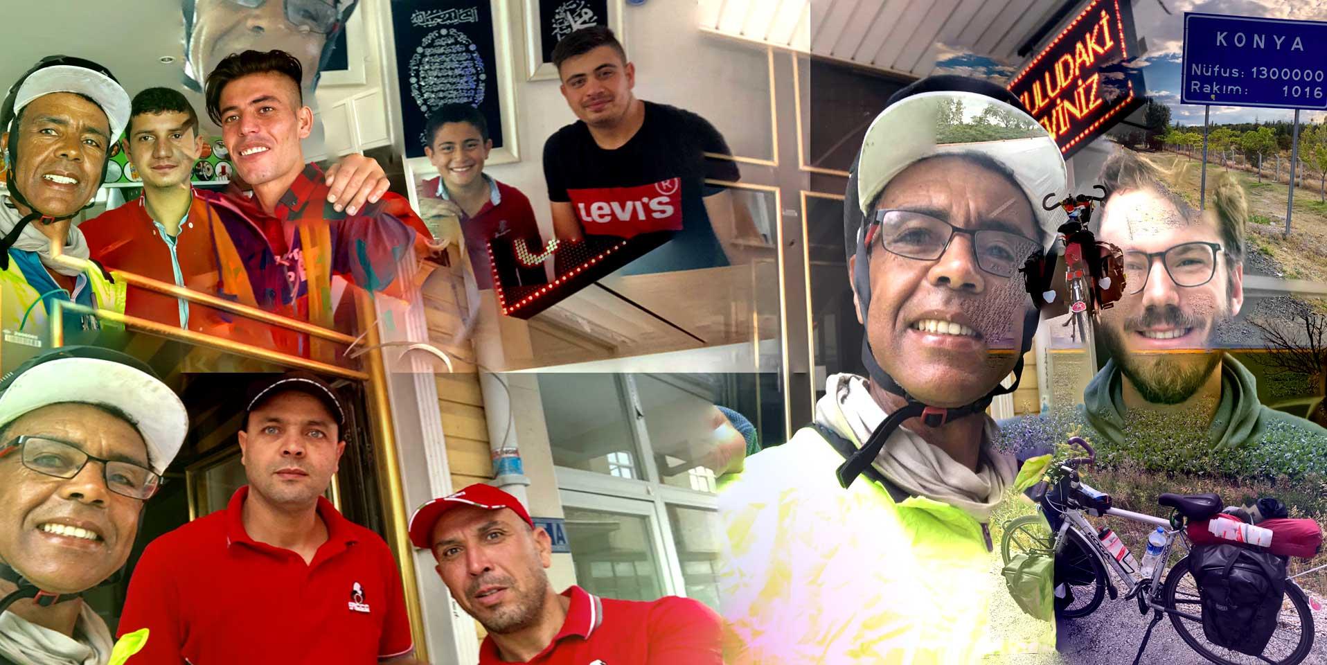 Jour 76 Turquie : De Casa à la Mecque à vélo Karim MOSTA