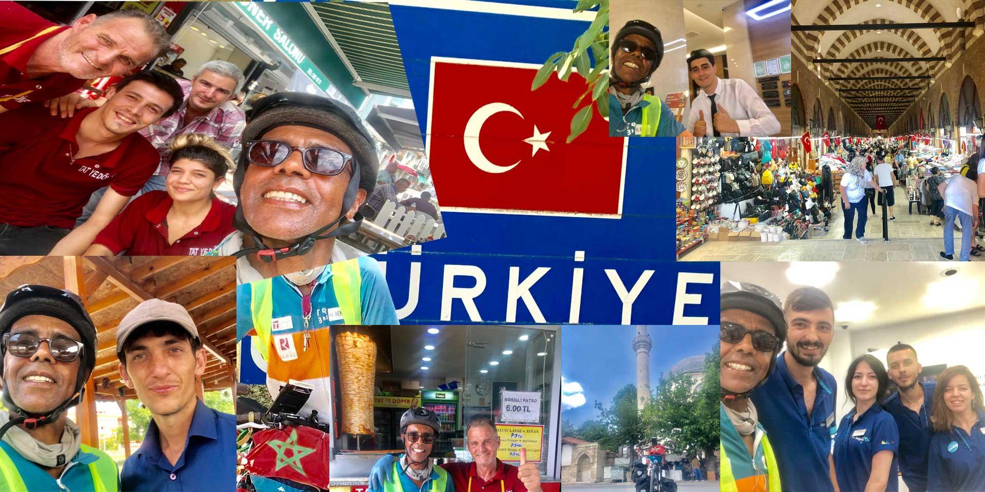 Jour 64 Turquie : De Casa à la Mecque à vélo Karim MOSTA