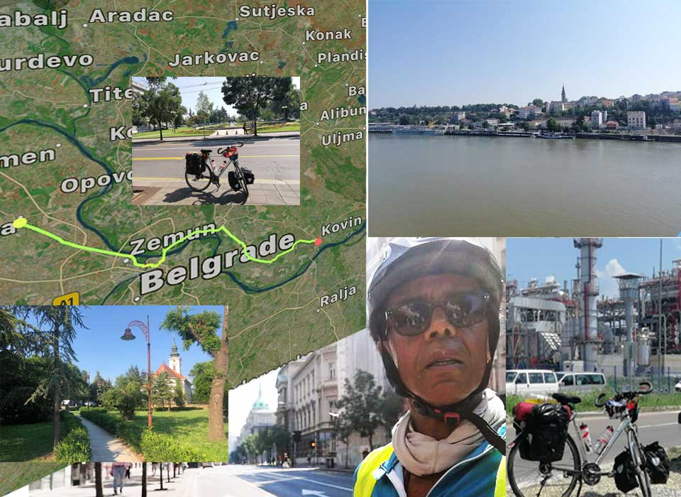 Jour 55 Serbie : De Casa à la Mecque à vélo Karim MOSTA