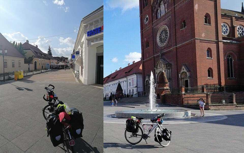 Jour 52 Croitie : De Casa à la Mecque à vélo Karim MOSTA