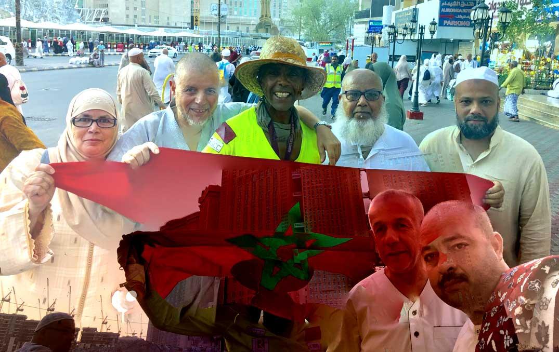 Jour 109 Arabie saoudite : De Casa à la Mecque à vélo Karim MOSTA