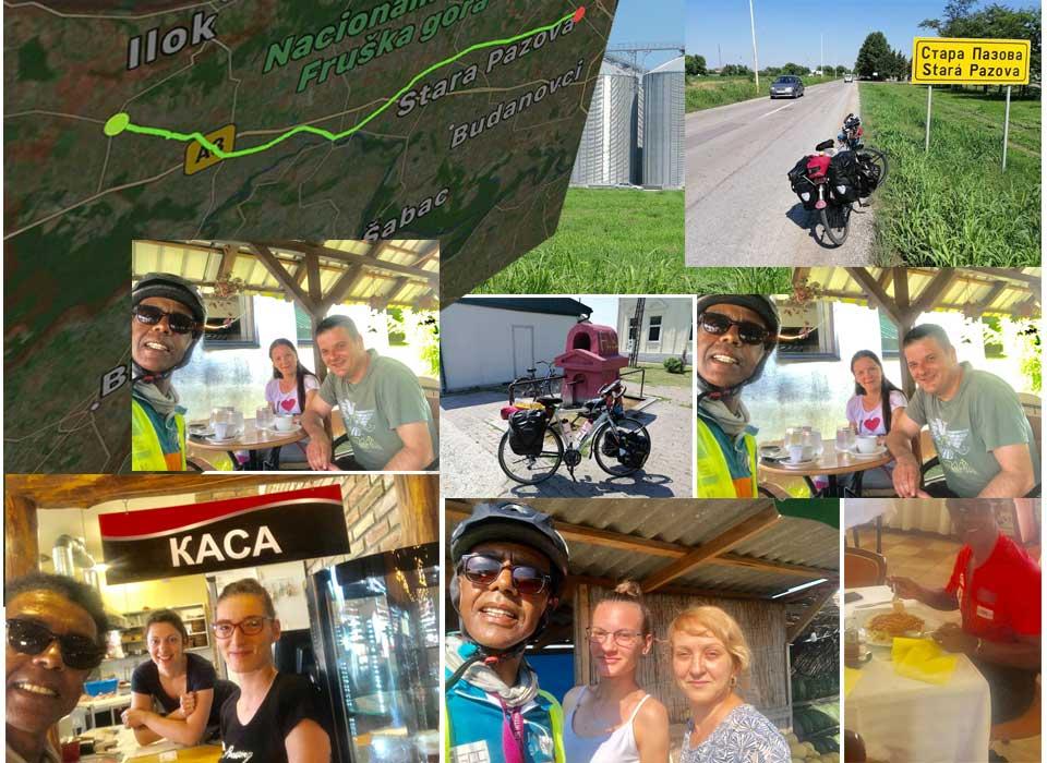 Jour 54 Serbie : De Casa à la Mecque à vélo Karim MOSTA