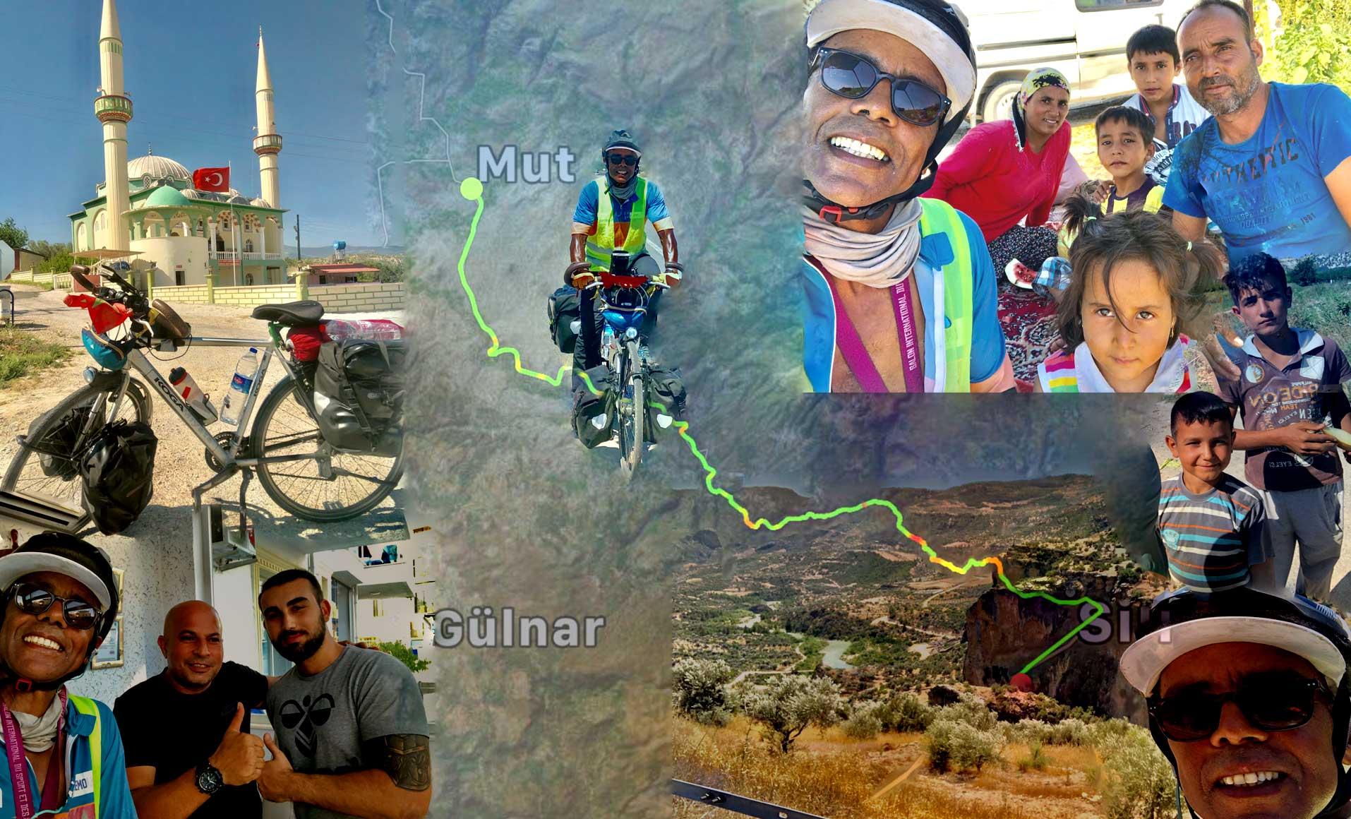 Jour 79 Turquie : De Casa à la Mecque à vélo Karim MOSTA