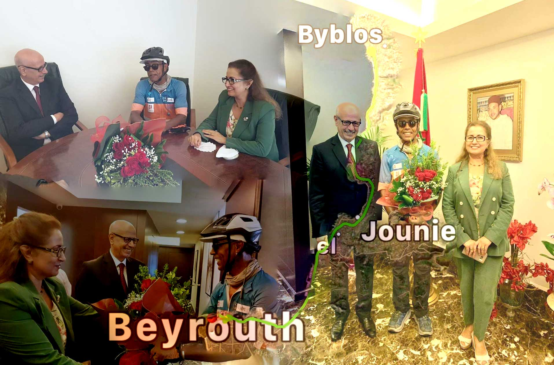 Jour 83 Liban : De Casa à la Mecque à vélo Karim MOSTA