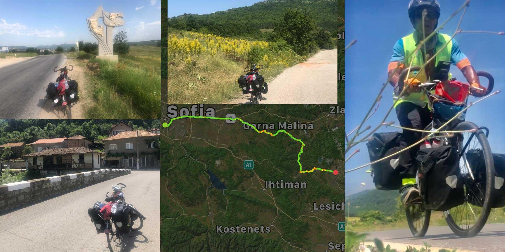Jour 61 Bulgarie : De Casa à la Mecque à vélo Karim MOSTA