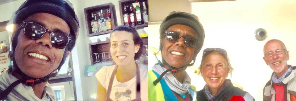 Jour 43 Italie : De Casa à la Mecque à vélo Karim MOSTA