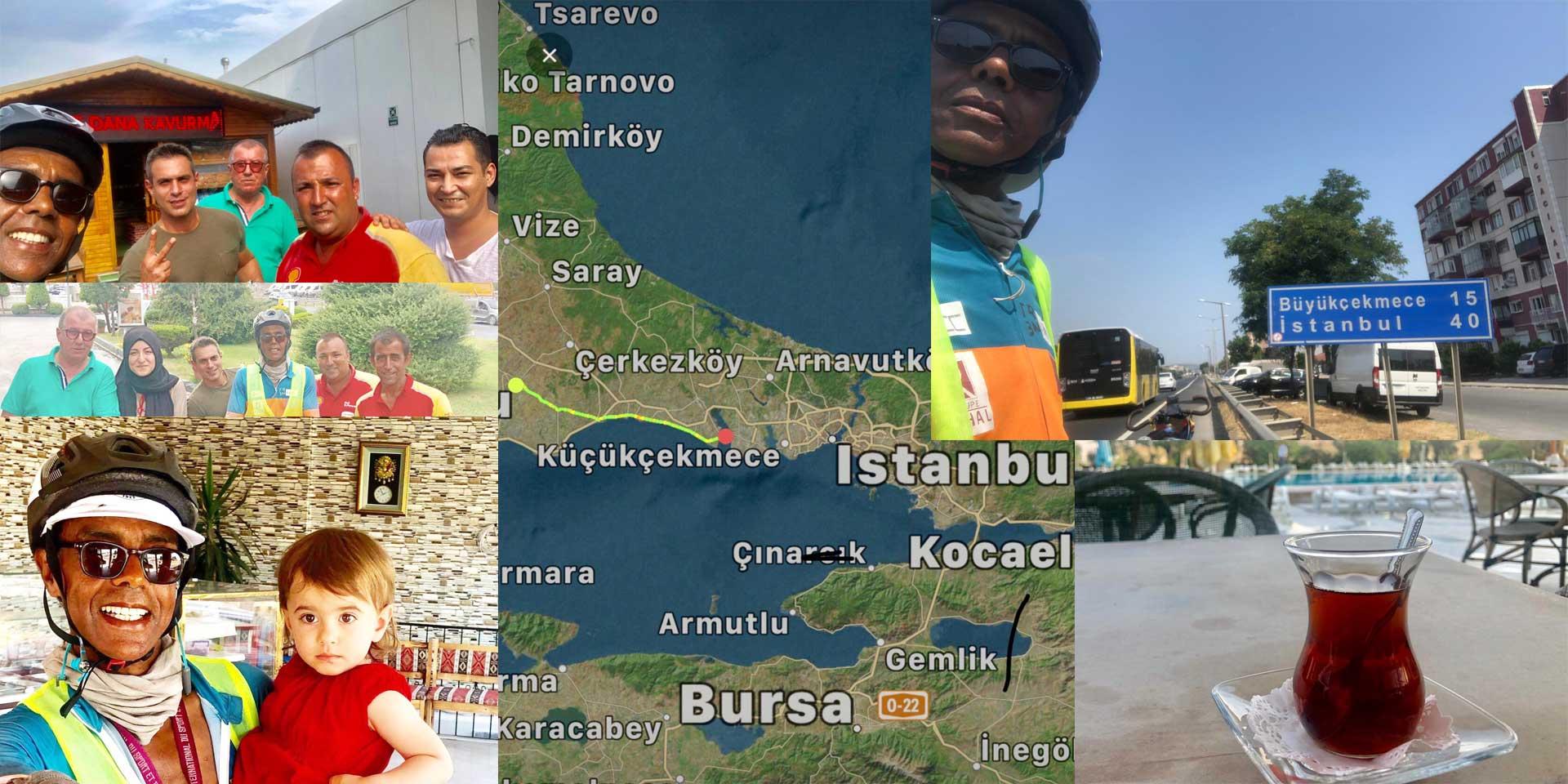 Jour 66 Turquie : De Casa à la Mecque à vélo Karim MOSTA