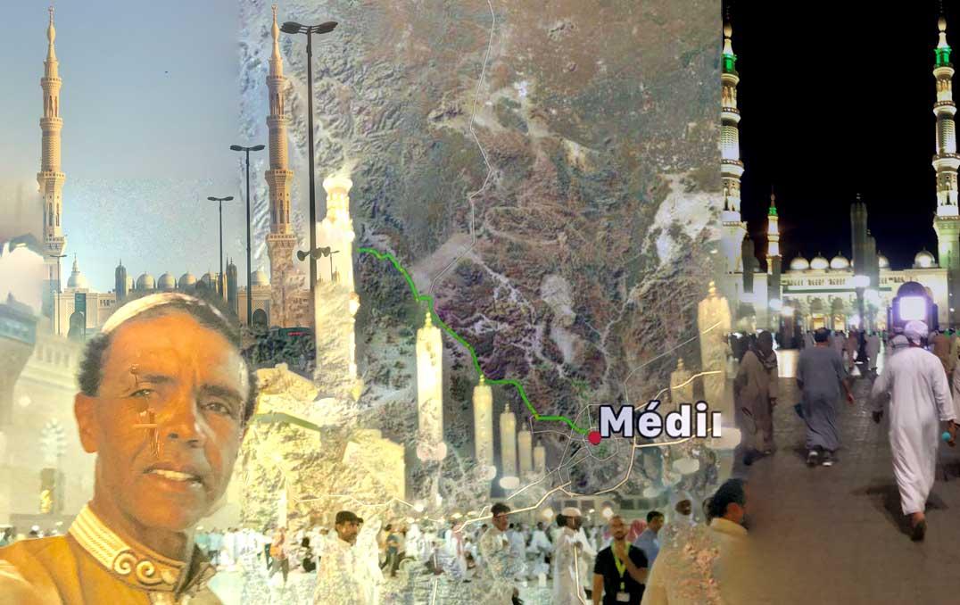 Jour 95 Arabie saoudite : De Casa à la Mecque à vélo Karim MOSTA