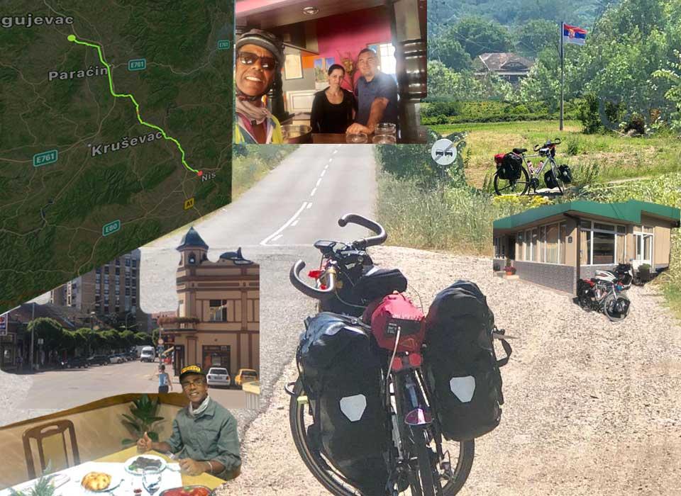 Jour 57 Serbie : De Casa à la Mecque à vélo Karim MOSTA